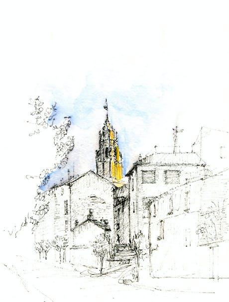 Iglesia de Nuestra Señora de la Asunción, sadaba, Zaragoza, Spain