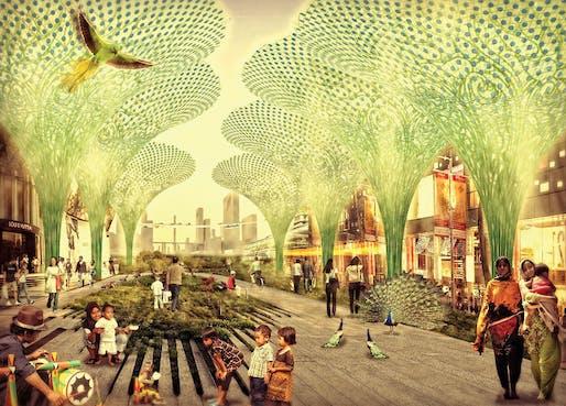 Smart Cities category winner: Jakarta Jaya: The Green Manhattan by SHAU