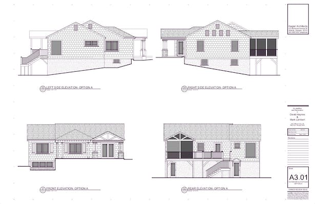 Exterior Elevations: Proposed