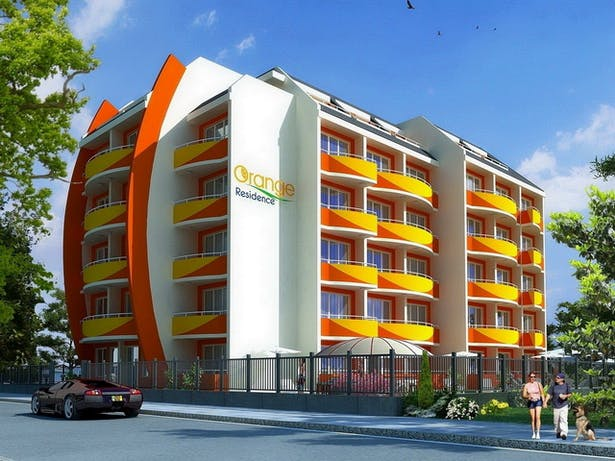 """Complex Of Holiday Apartments """"ORANGE Residence"""" - visualization"""