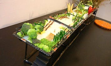 Incredible Edible High Line Park Replica Made of Thanksgiving Food and Recycled Sushi Boxes