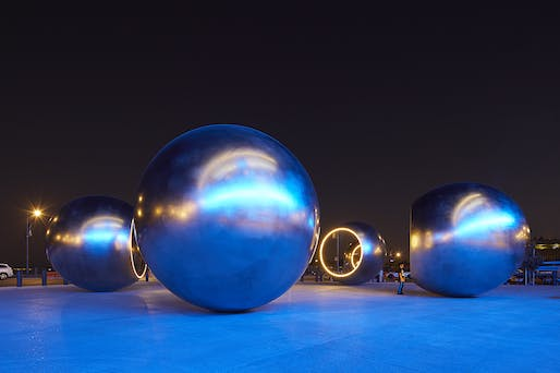 Olafur Eliasson, Seeing Spheres by Keehn On Art. Image courtesy CODAawards