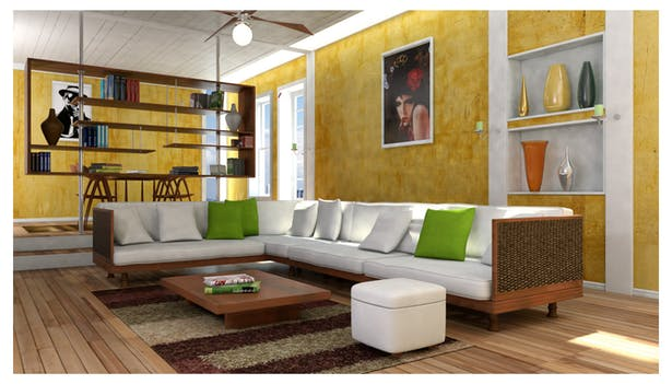 Interior Design - 3DS Max 2012 and Mental Ray | Ulas Gursoy