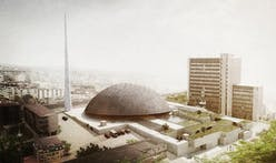 Prishtina Central Mosque Entry by OODA + AND-RÉ