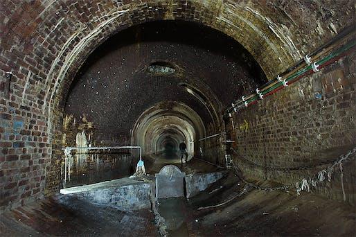 "Image: Part of the vaults burying the River Fleet, © <a href=""http://www.sub-urban.com/"">sub-urban.com</a>"