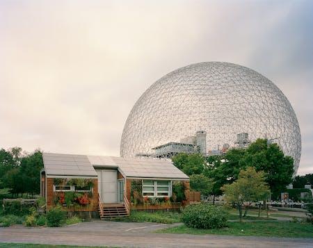 Montreal 1967 World's Fair, 'Man and His World,' Buckminster Fuller's Geodesic Dome With Solar Experimental House, 2012 © JADE DOSKOW