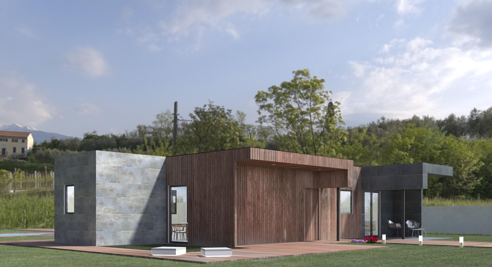 Casas Modulares en Espaa Modelo 3b Miguel Martinez Archinect