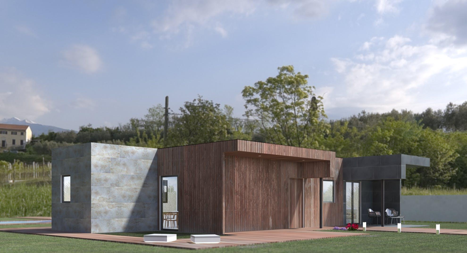 Casas Modulares En Espa A Modelo 3b Miguel Martinez