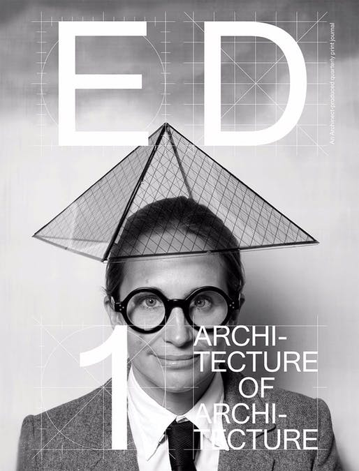 "Ed #1: The Architecture of Architecture, now available for purchase <a href=""https://ed.archinect.com/"">ed.archinect.com</a>"