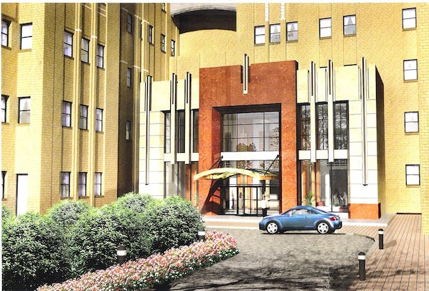 Main Entrance for Building B of The Beacon Luxury Residential Condominium