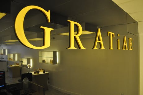 GRATiAE - 308 Fremont St. Las Vegas - Tima Winter Inc. Designed by Tima Bell with consultant Scott Sullivan