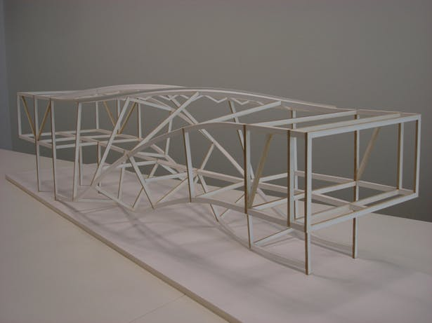 J House - Structural Model