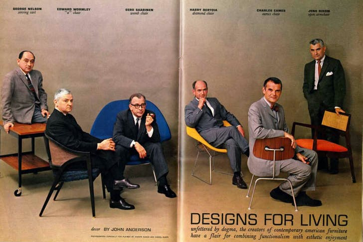 Designs for Living, July 1961. Image courtesy Elmhurst Art Museum.
