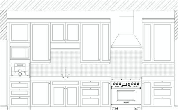 Kitchen North Elevation