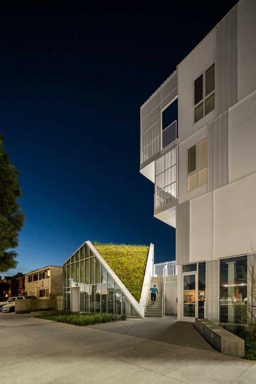 ​AFFORDABLE HOUSING - Honor: MLK1101 Supportive Housing (Los Angeles, CA) by Lorcan O'Herlihy Architects [LOHA]​. Photo: Paul Vu.