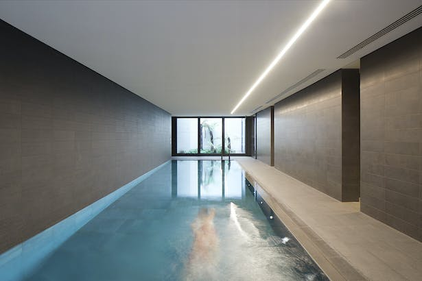 Swimming Pool for the residents (c) Make Architects