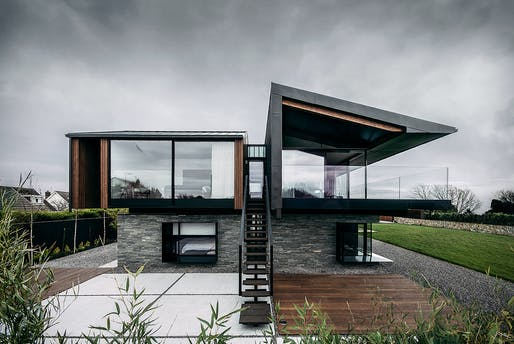 Silver House, Swansea, Wales by Hyde + Hyde Architects. Photo: David Schnabel.