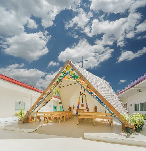 The Chapel of St. Benedict and St. Scholastica by WTA Architecture and Design Studio. Category: Religion