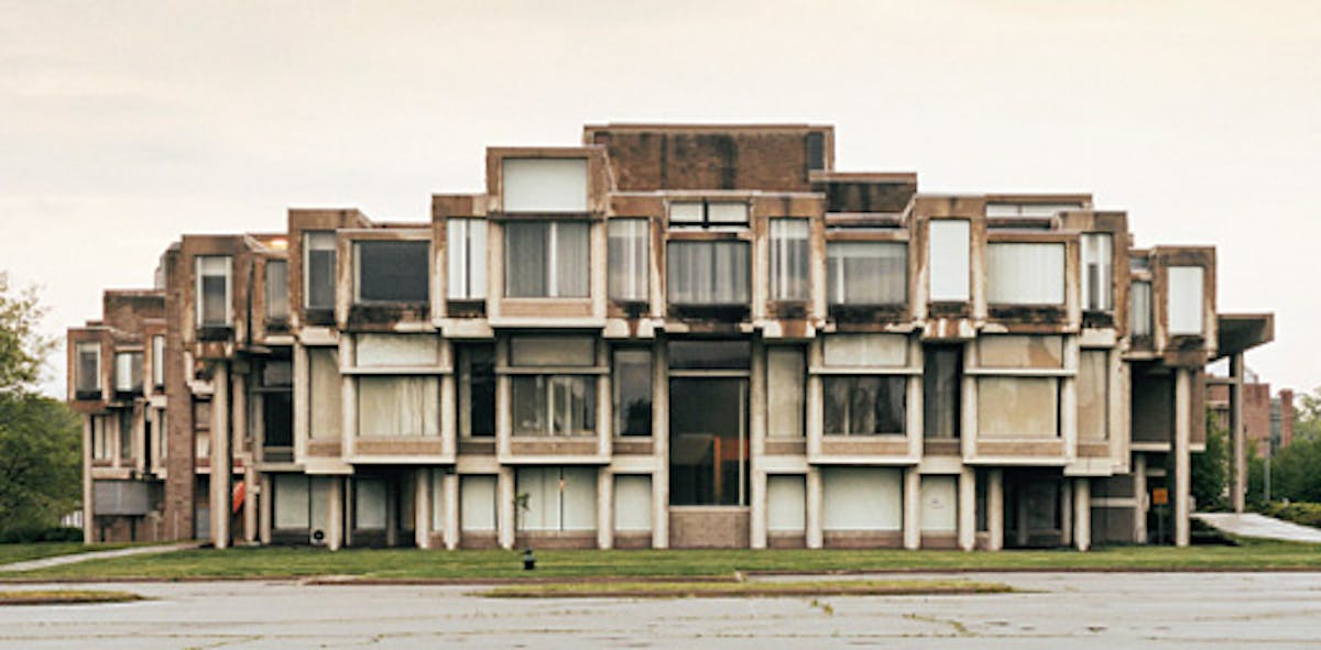 Paul rudolph 39 s brutalist orange county gem to be for Architecture firms orange county