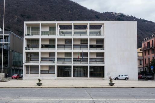 Italian rationalist architect Giuseppe Terragni designed the Casa del Fascio in Como as the local HQ of Benito Mussolini's National Fascist Party. Photo: W***/Flickr