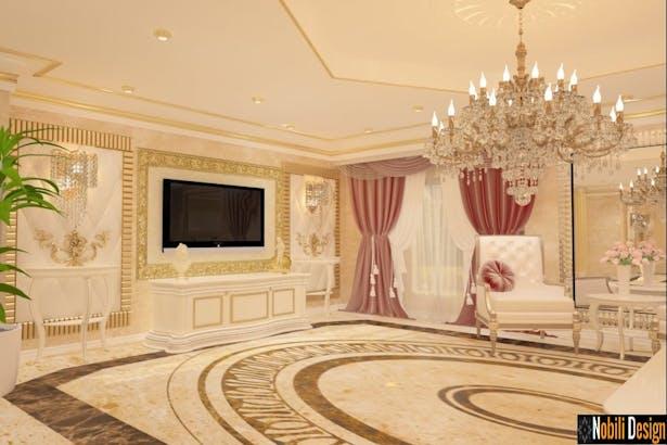 Design interior living open space - Amenajari interioare case