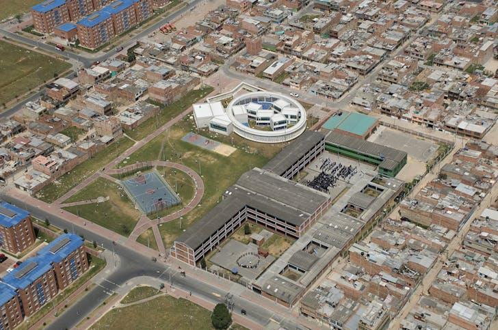 El Porvenir Kindergarten, photo credit Rodrigo Davila, courtesy of El Equipo de Mazzanti.