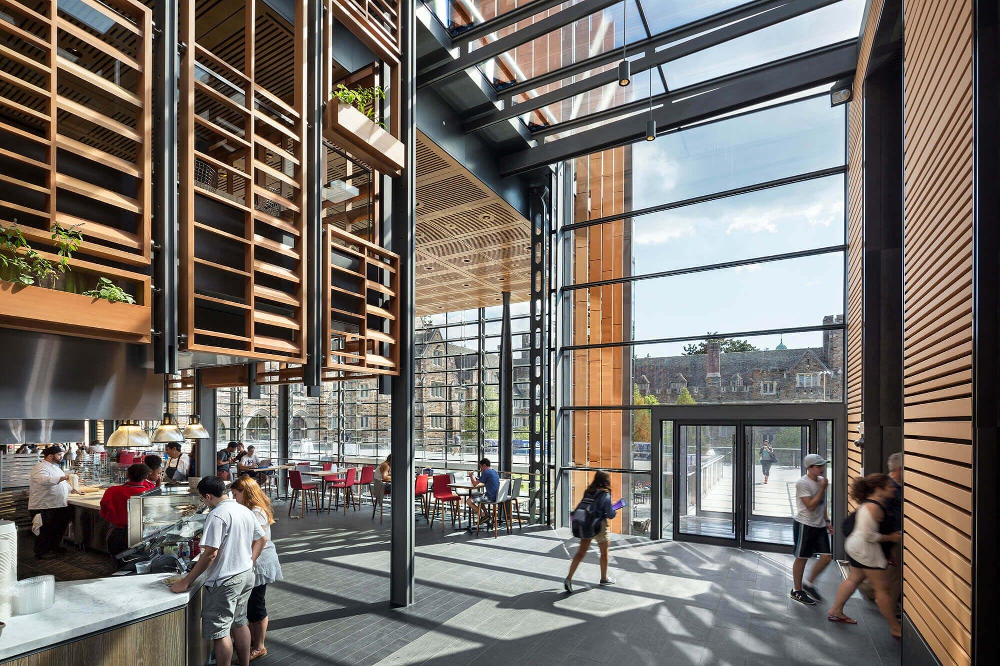 Duke university west campus union renovation grimshaw - Interior design students for hire ...