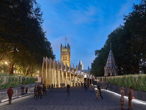 UK National Holocaust Memorial and Learning Centre. Photo credit: Adjaye Associates & Ron Arad Architects.