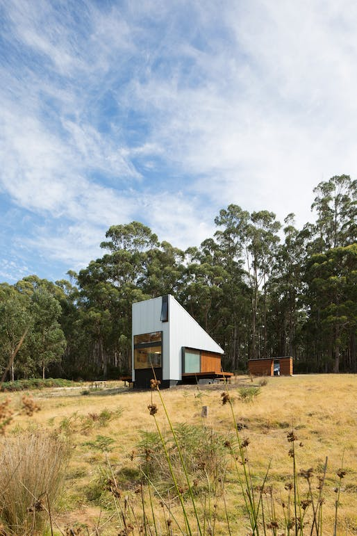 Bruny Island Hideaway (Alonnah) by Maguire + Devine Architects. Photo: Rob Maver.