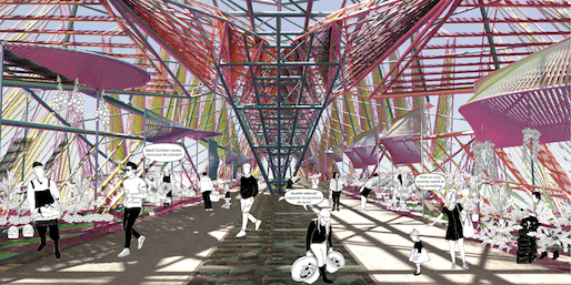 CATEGORY II - Honorable Mention: Marché du Pont