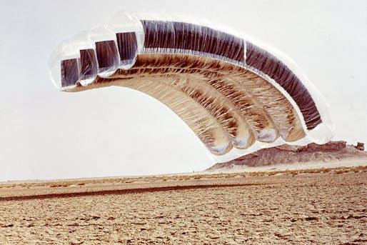 Image: Desert Cloud. 1972-2004. Courtesy of Graham Stevens and William McLean.
