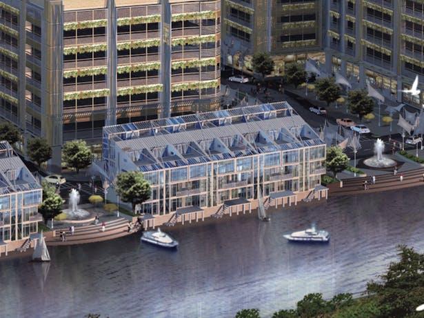 Franklin Point, Chicago, Cordogan Clark & Associates Architects