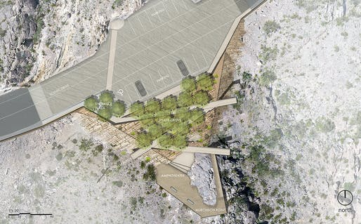 "Jeff Harnar Award for Unbuilt Landscape Architecture winner: ""Murchison Rogers Park"" by Surroundings Studio. Image © Surroundings Studio."