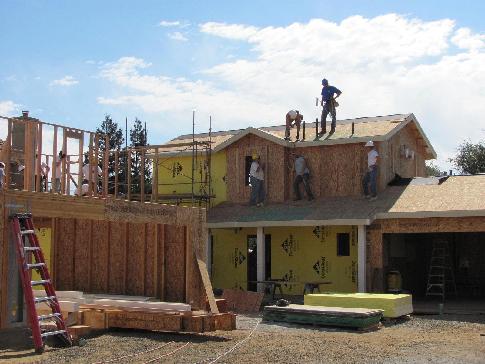 Six Habitat for Humanity Homes