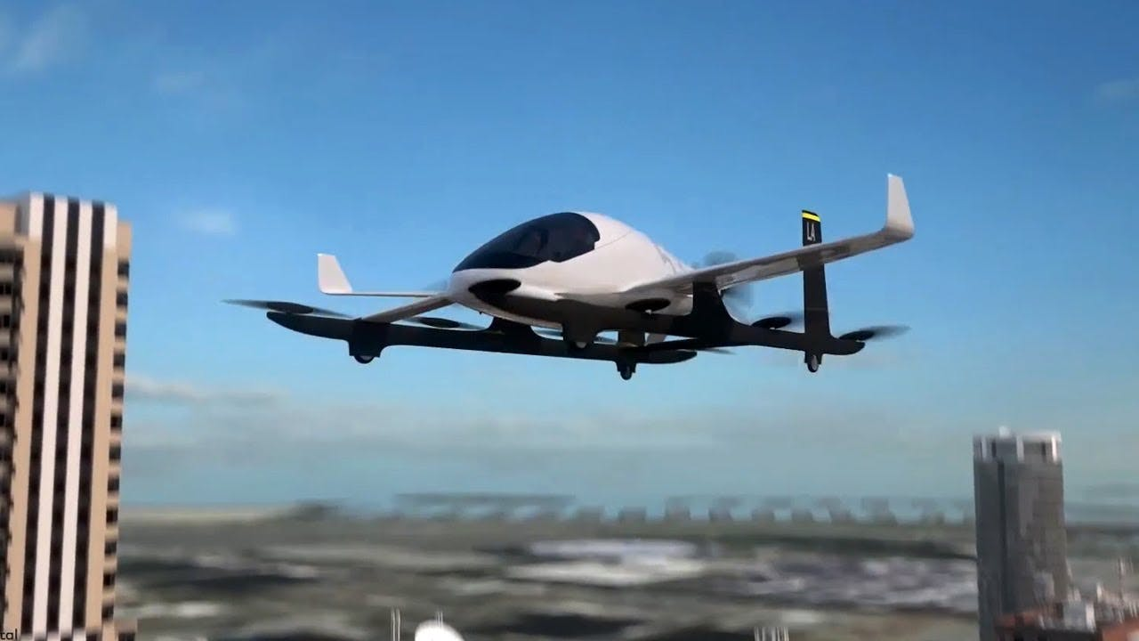 Image result for flying taxis uber