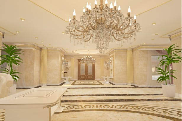 Amenajari interioare case - Candelabre clasice