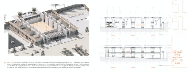 Axonometric Section / Building Sections