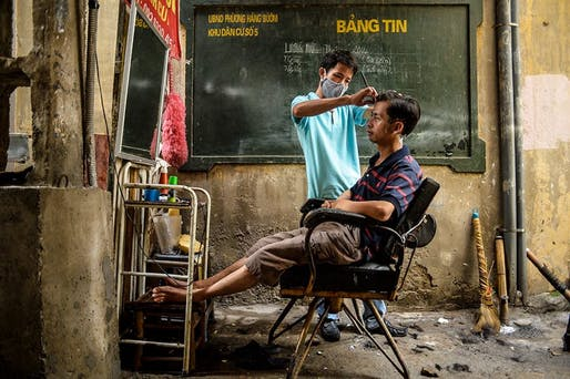 EMERGING TALENT JURY WINNER: Binh Duong - 'Street Barber'