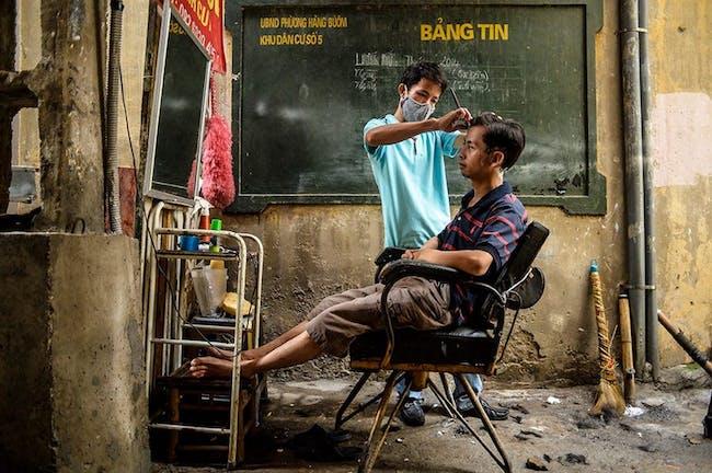 EMERGING TALENT JURY WINNER: Binh Duong - 'Street Barber'