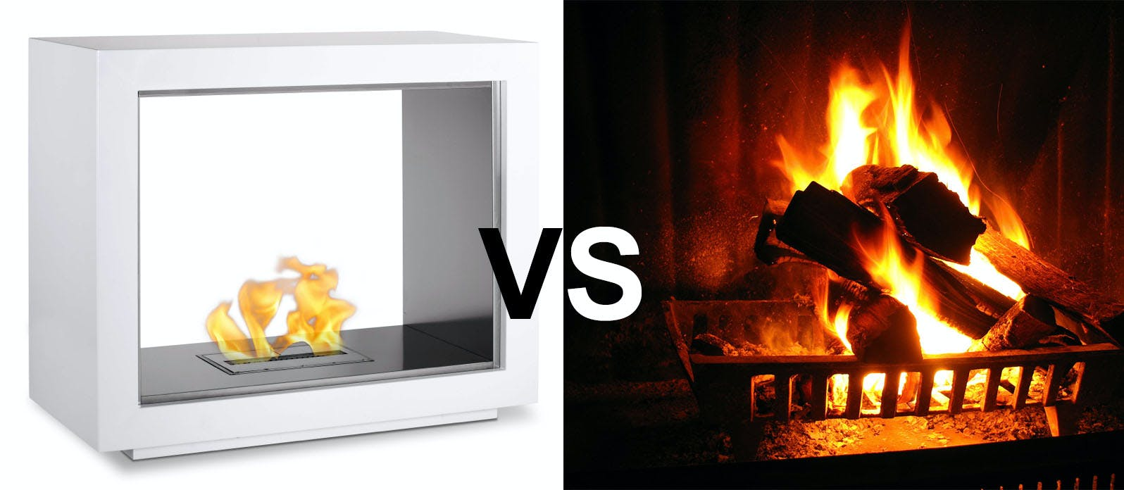 Are Ethanol Fireplaces Worse than Wood-Burning Ones