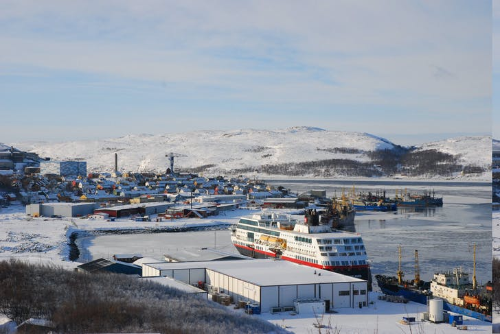 Kirkenes, at the border of Norway and Russia, is one of the sites selected for the Open Call for Intervention Strategies. Photo credit: Mathis Heibert, courtesy of the Oslo Architecture Triennale