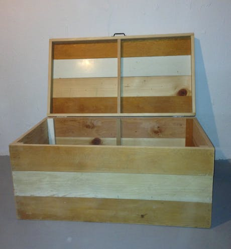 Reclaimed Lumber linen chest