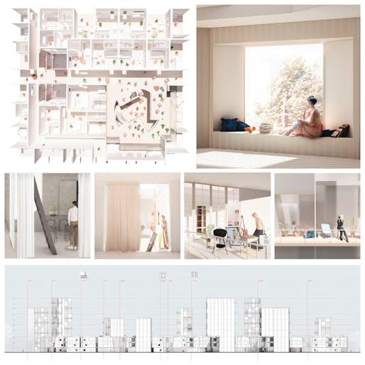 Pragmatic Award: House is Not a Home. Participants: Qin Ye Chen & Yiwen Wang.