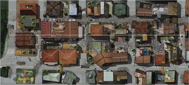 future layout of the neighbouhood