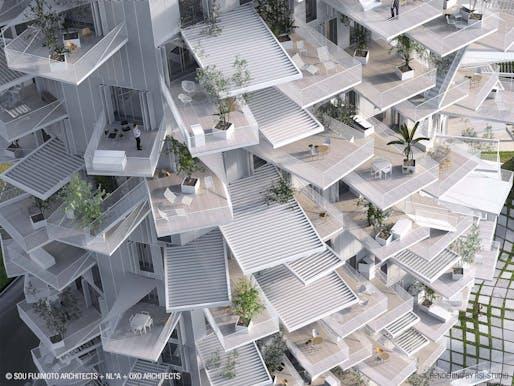Image: Sou Fujimoto Architects + NL*A+OXO Architects