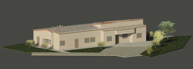Adm. school building