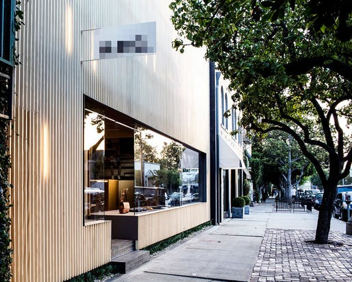 A.P.C. Melrose Place in Los Angeles, CA by WORD (Warren Office For Research and Design).