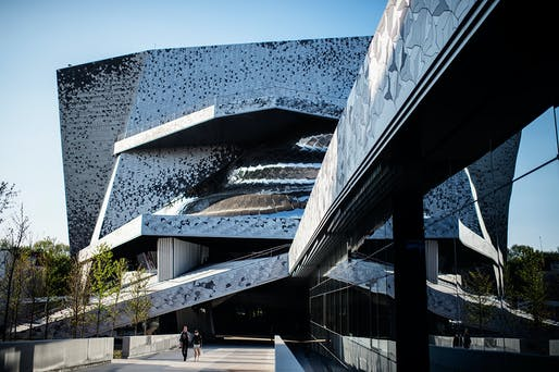 Philharmonie de Paris, designed by Jean Nouvel. Photo © Beaucardet