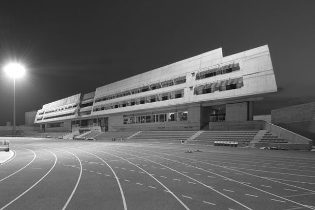 Photo: Allegra GSP Sport Center in Nicosia, Cyprus. Photo: C. Artemis.