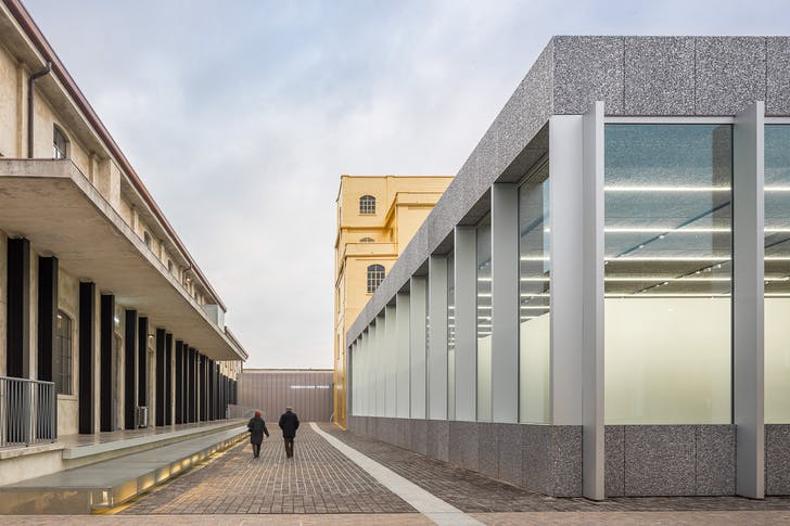 Fondazione Prade, Milano by Rem Koolhaas OMA